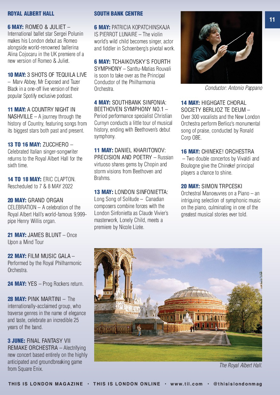 11 ROYAL ALBERT HALL 6 MAY: ROMEO & JULIET – In...