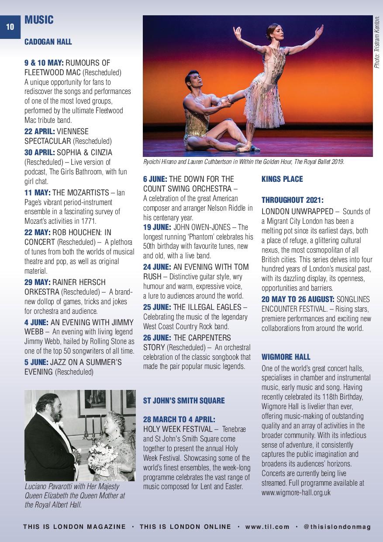 10 MUSIC CADOGAN HALL 9 & 10 MAY: RUMOURS OF FL...
