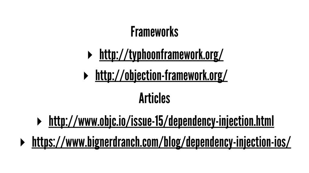Frameworks ▸ http://typhoonframework.org/ ▸ htt...