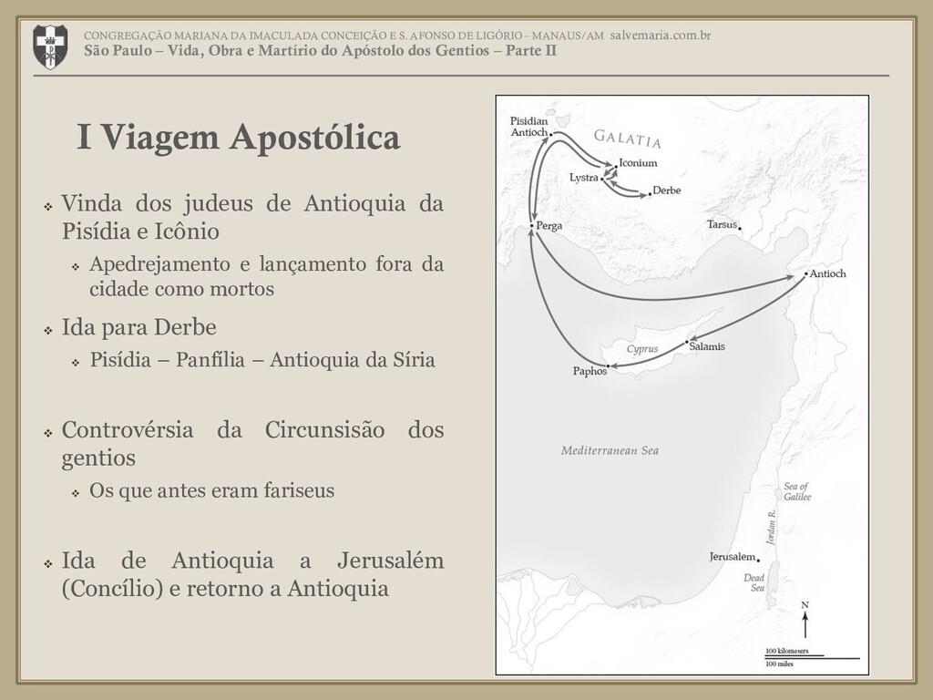  Vinda dos judeus de Antioquia da Pisídia e Ic...