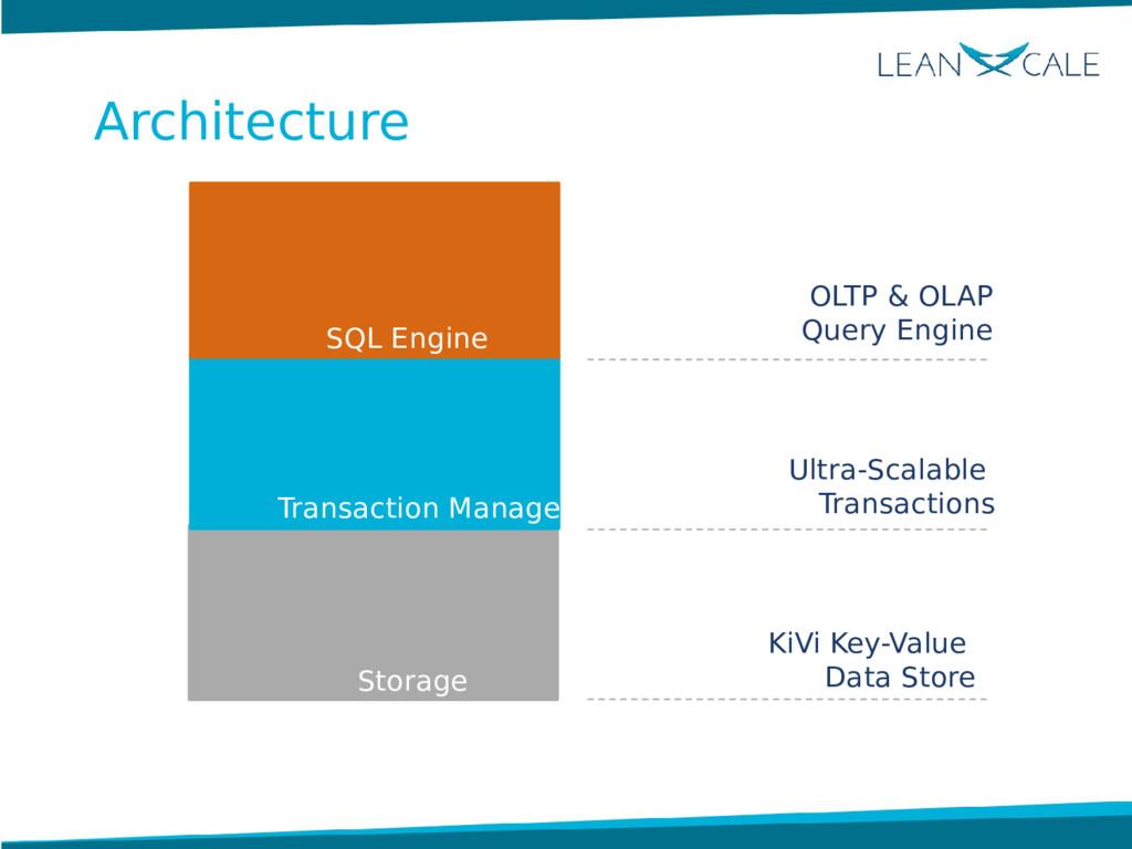 KiVi Key-Value Data Store OLTP & OLAP Query Eng...