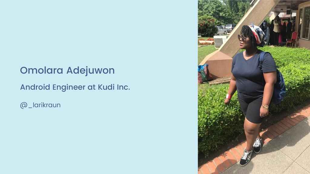 DROIDCON KENYA 2019 AUGUST 8TH-9TH, 2019 @_lari...