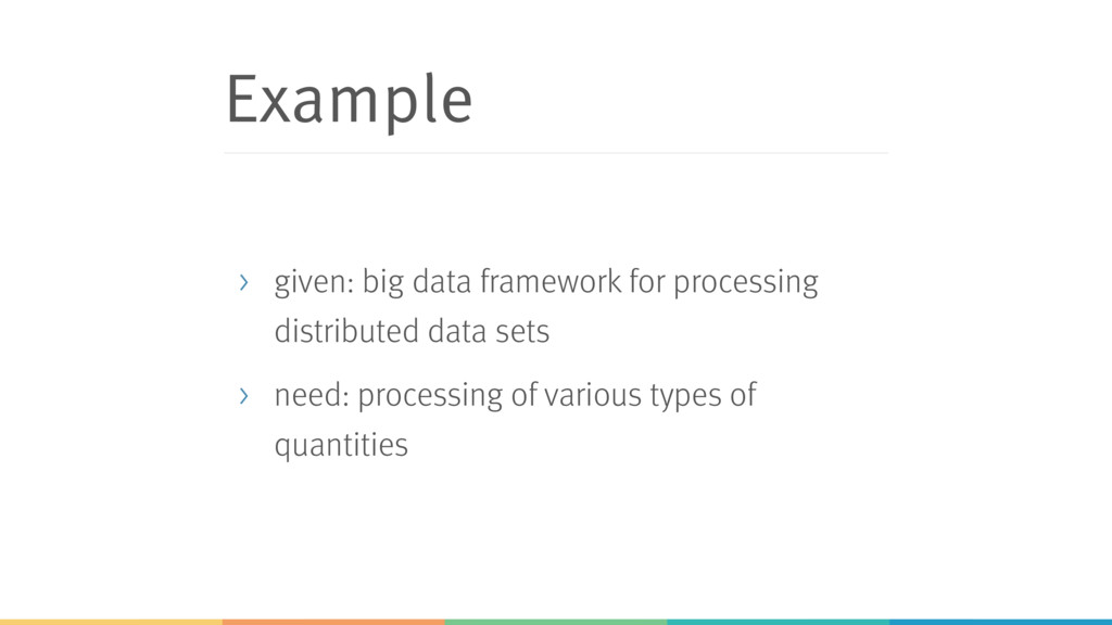 Example > given: big data framework for process...