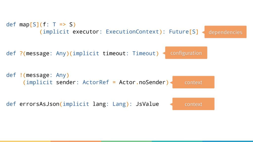 def map[S](f: T => S) (implicit executor: Execu...