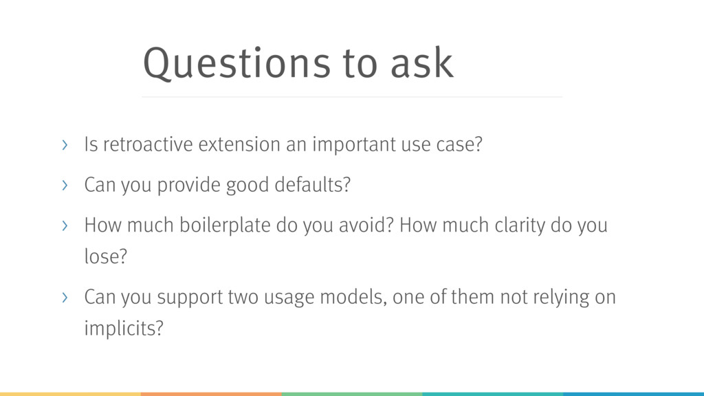 Questions to ask > Is retroactive extension an ...