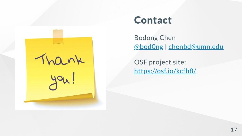 Contact Bodong Chen @bod0ng | chenbd@umn.edu OS...