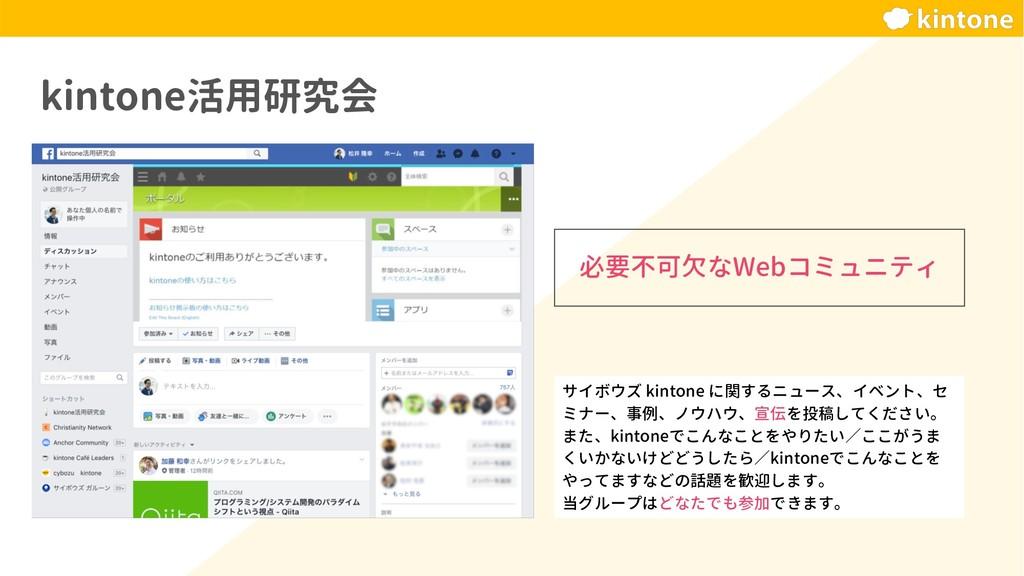 kintone活用研究会 サイボウズ kintone に関するニュース、イベント、セ ミナー、...
