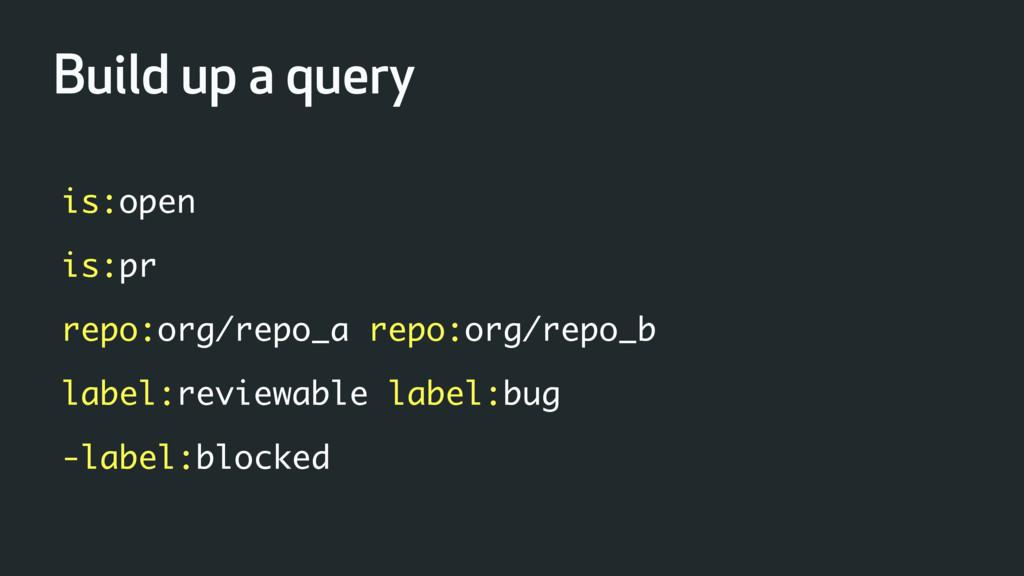 is:open is:pr repo:org/repo_a repo:org/repo_b l...