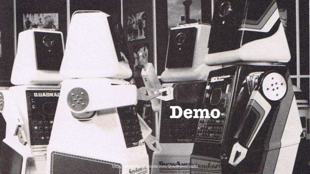 Demo http://www.theoldrobots.com/Quadracon.html