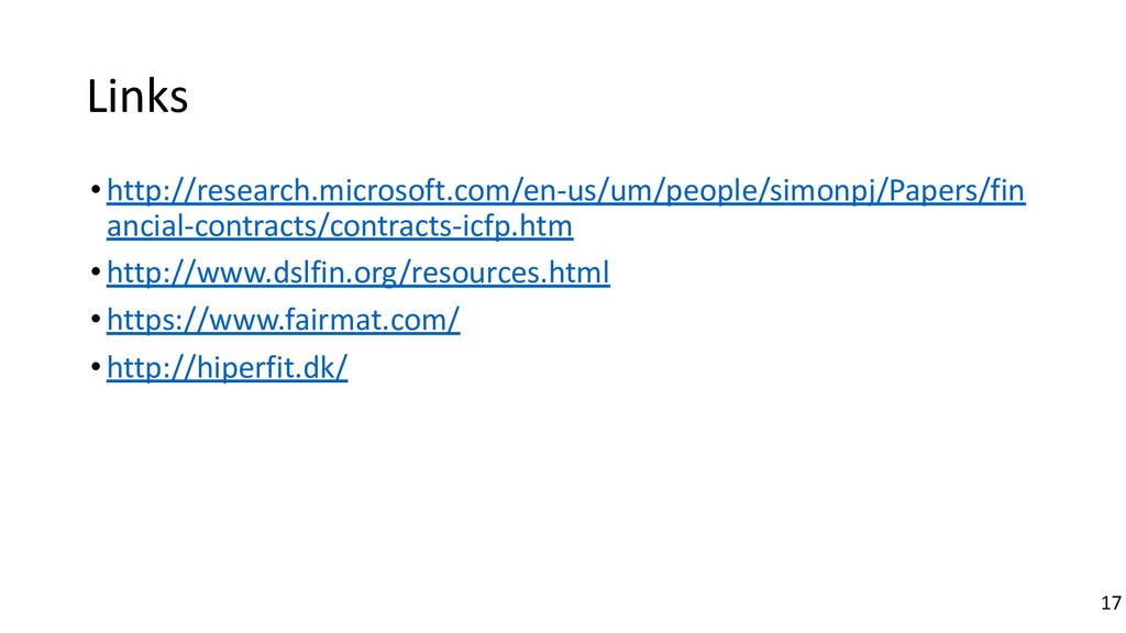 Links •http://research.microsoft.com/en-us/um/p...