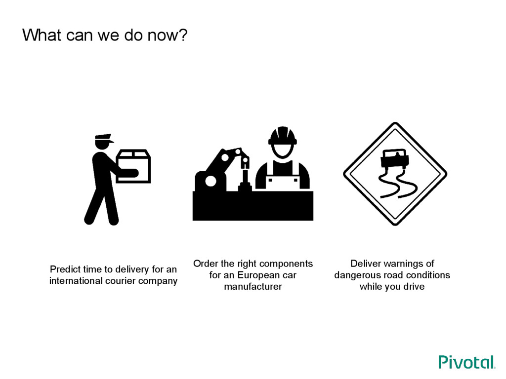 What can we do now? Predict time to delivery fo...