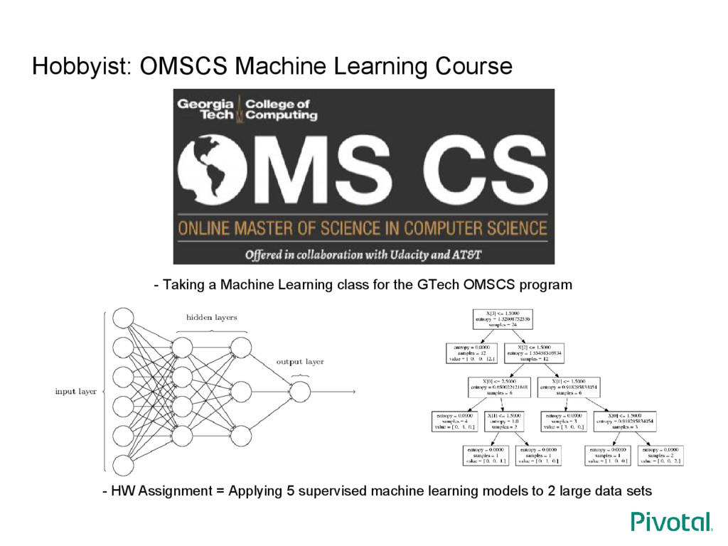 Hobbyist: OMSCS Machine Learning Course - Takin...