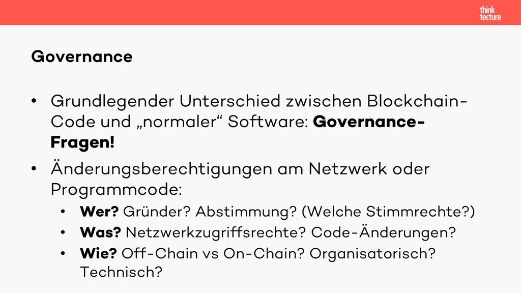 • Grundlegender Unterschied zwischen Blockchain...