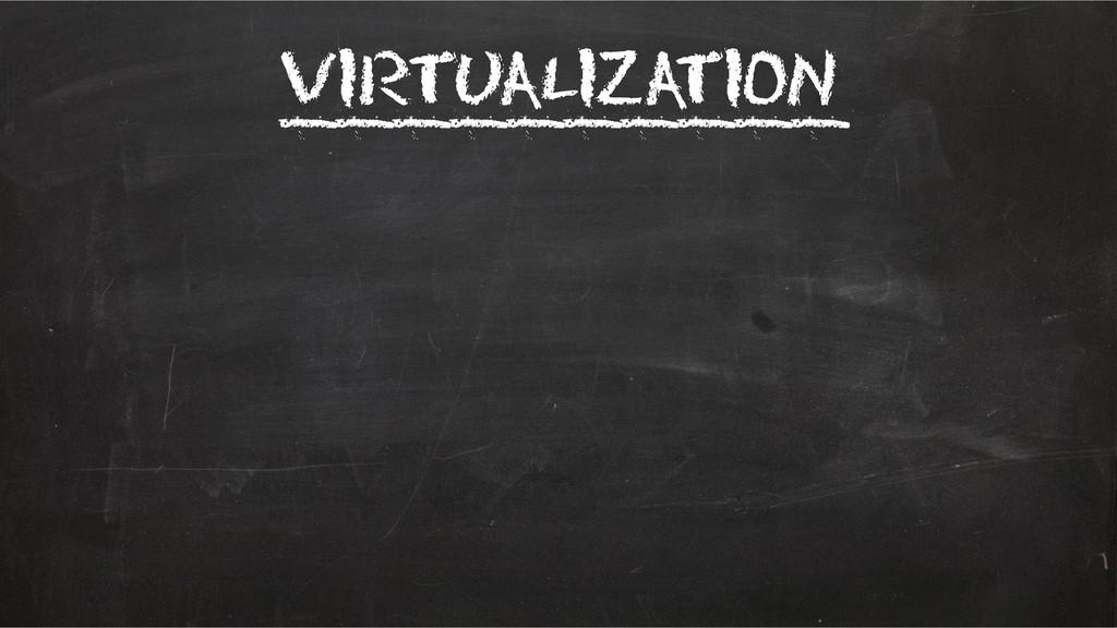Virtualization __________