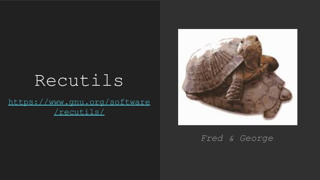 Recutils https://www.gnu.org/software /recutils...