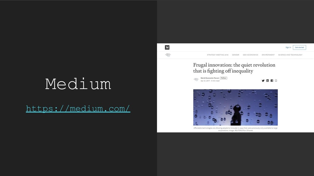 Medium https://medium.com/