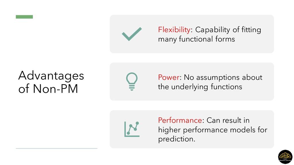 Advantages of Non-PM Flexibility: Capability of...