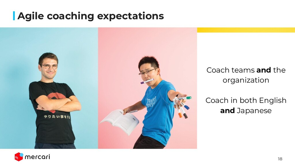 18 Agile coaching expectations Coach teams and ...