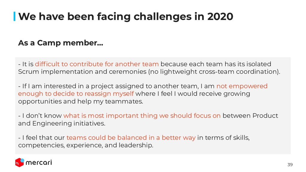 39 We have been facing challenges in 2020 - It ...