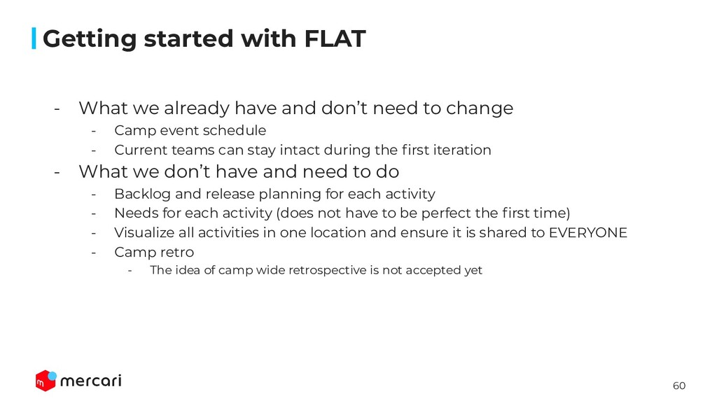 60 Getting started with FLAT - What we already ...