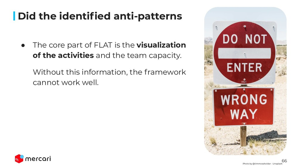66 ● The core part of FLAT is the visualization...