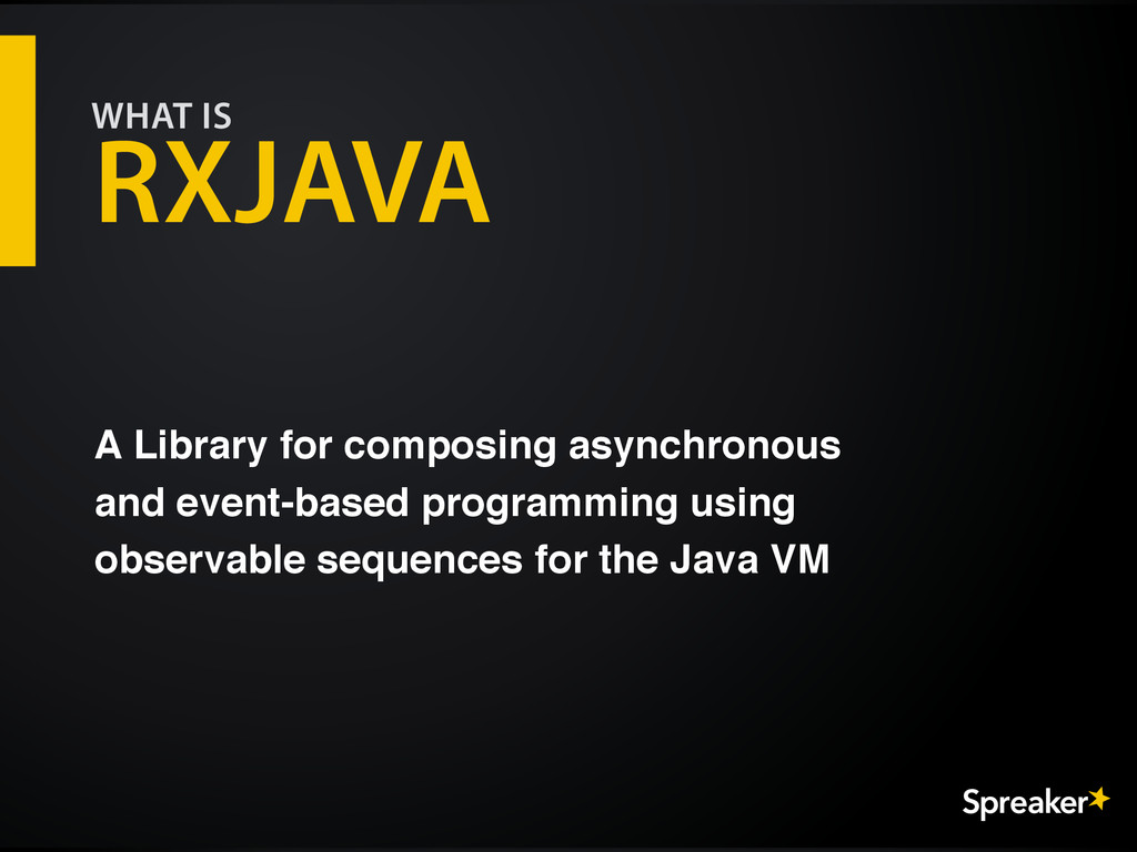 A Library for composing asynchronous and event-...