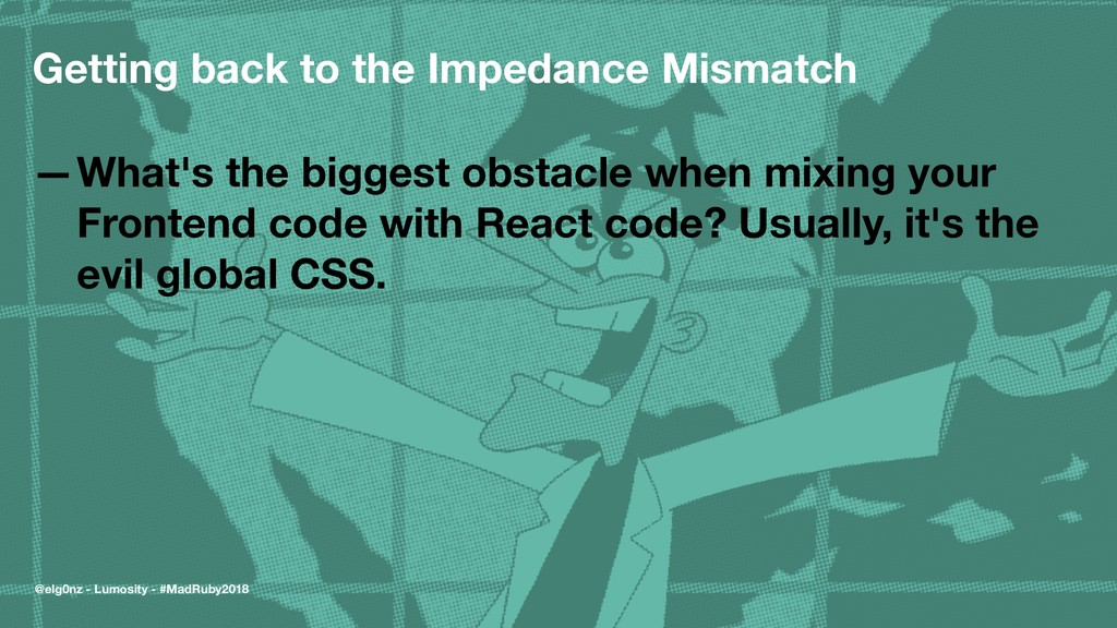 Getting back to the Impedance Mismatch —What's ...