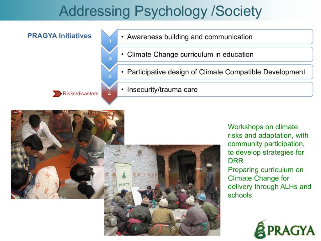 Addressing Psychology /Society 1 • Awareness b...