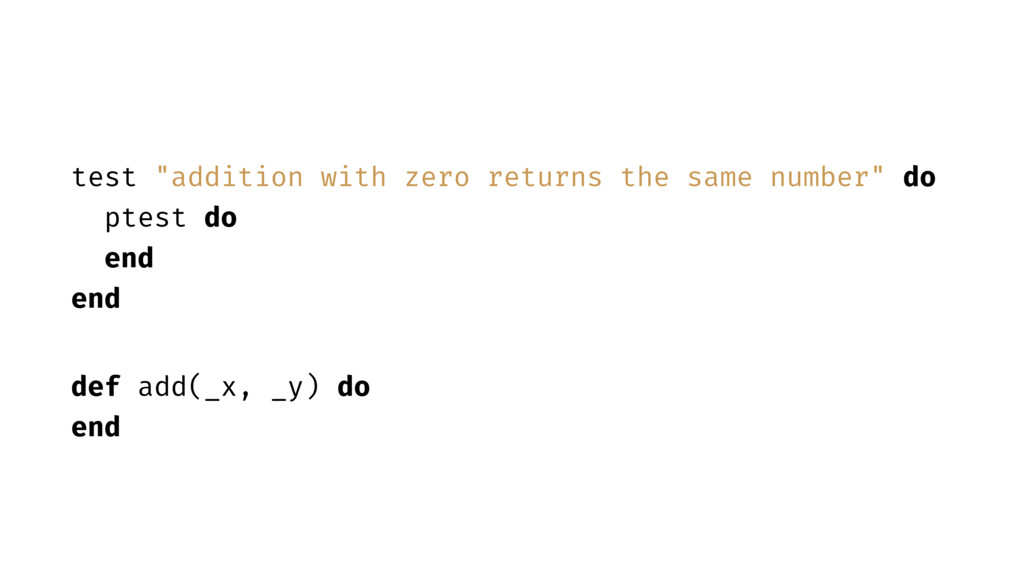 """test """"addition with zero returns the same numbe..."""