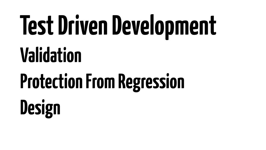 Validation Protection From Regression Design Te...