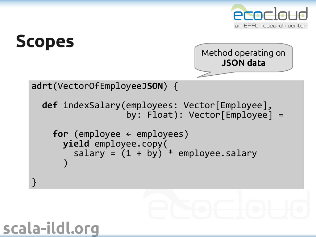 scala-ildl.org Scopes Scopes adrt(VectorOfEmplo...
