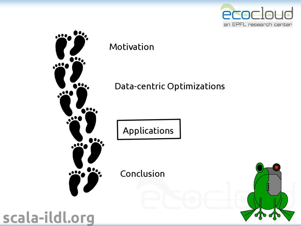 scala-ildl.org Motivation Data-centric Optimiza...