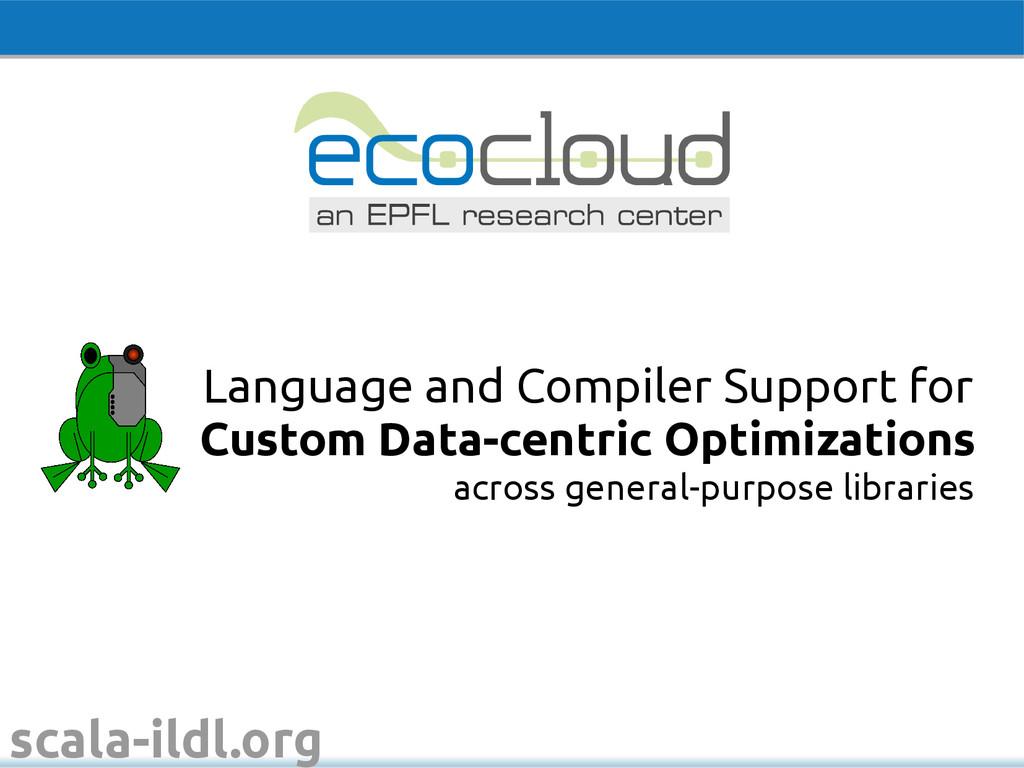 scala-ildl.org across general-purpose libraries...