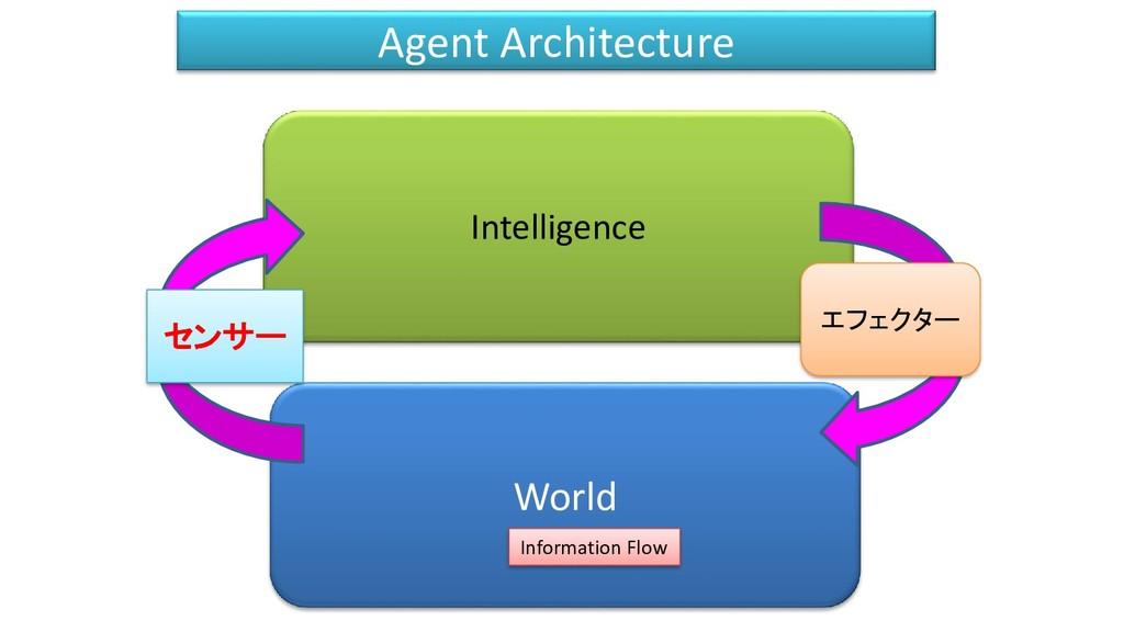 Intelligence World センサー Information Flow エフェクター...