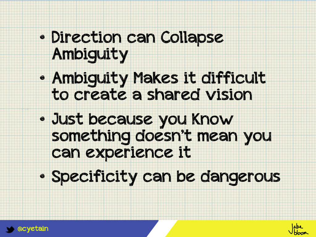 @cyetain • Direction can Collapse Ambiguity • A...