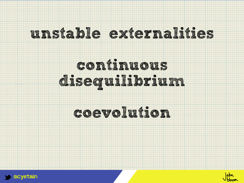 @cyetain unstable externalities continuous dise...