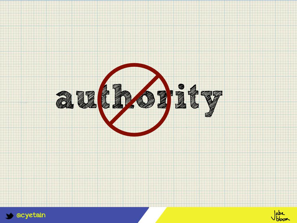 @cyetain authority