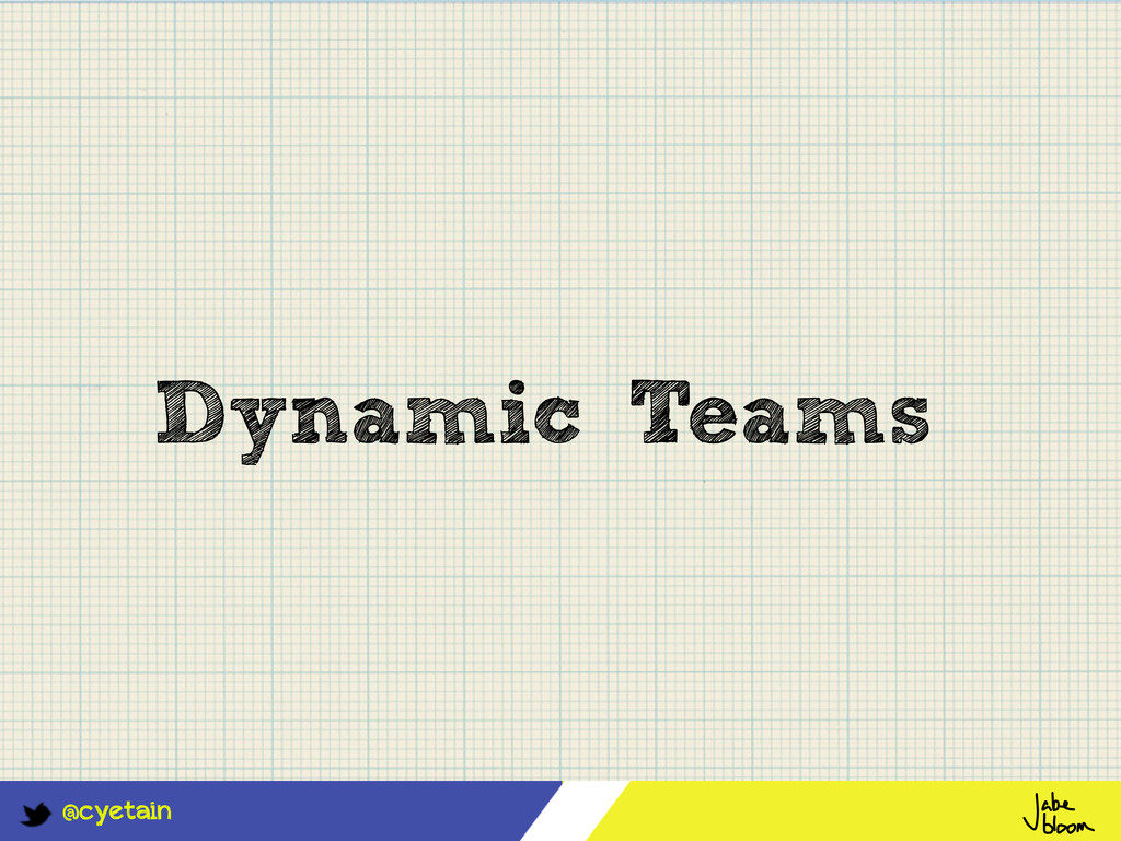 @cyetain Dynamic Teams