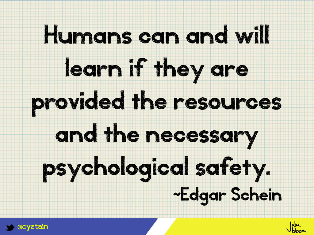 @cyetain Humans can and will learn if they are ...