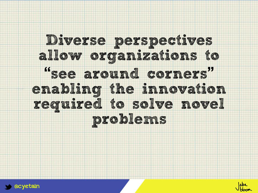 @cyetain Diverse perspectives allow organizatio...