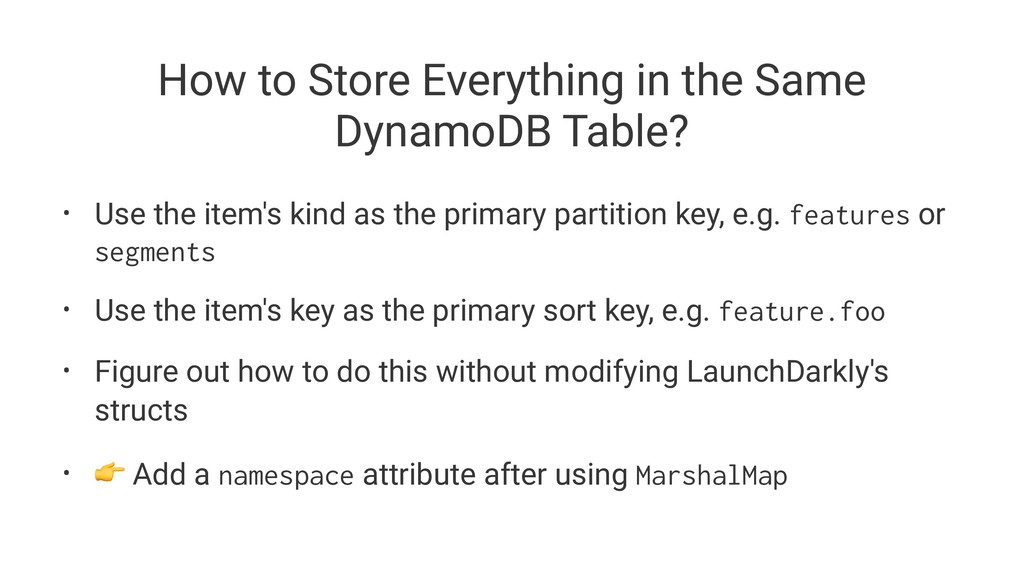 How to Store Everything in the Same DynamoDB Ta...