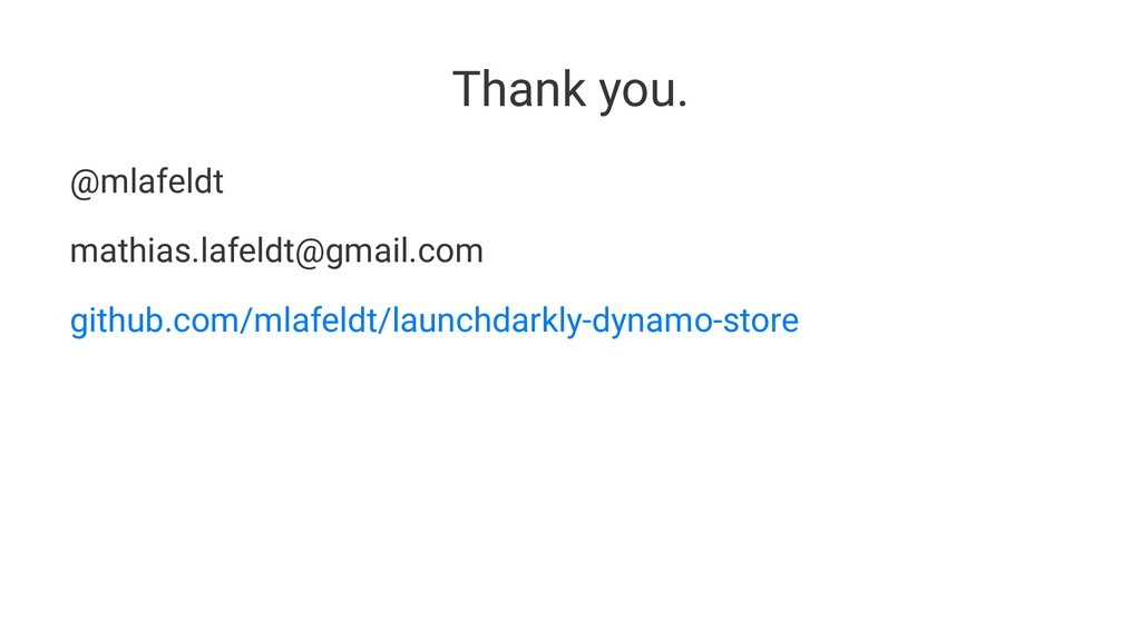 Thank you. @mlafeldt mathias.lafeldt@gmail.com ...