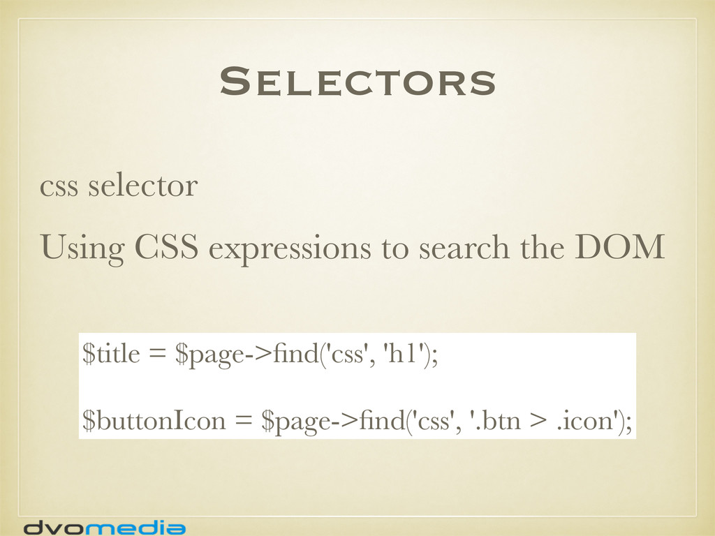 Selectors css selector Using CSS expressions to...