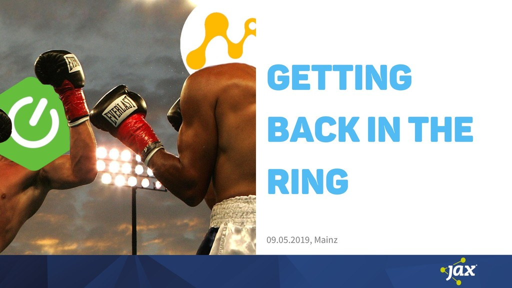 Getting back in the ring 09.05.2019, Mainz