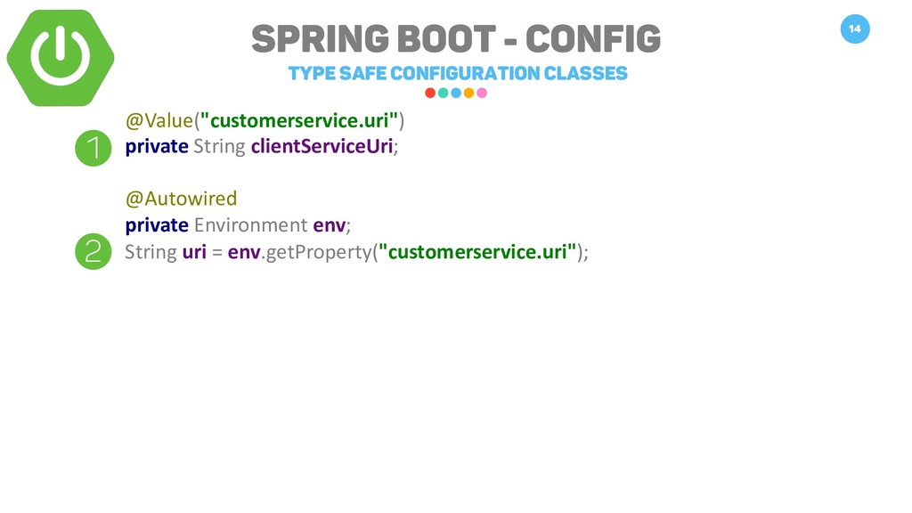 Spring Boot - Config Type safe Configuration Cl...