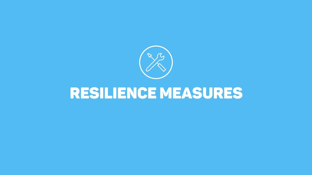 RESILIENCE MEASURES