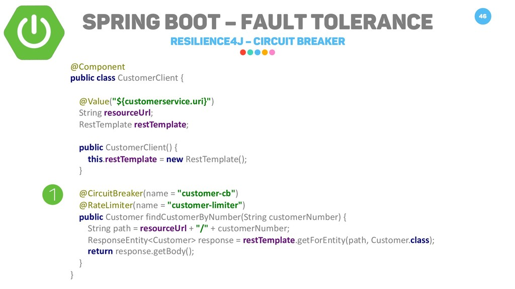 Spring Boot – Fault Tolerance Resilience4j – Ci...