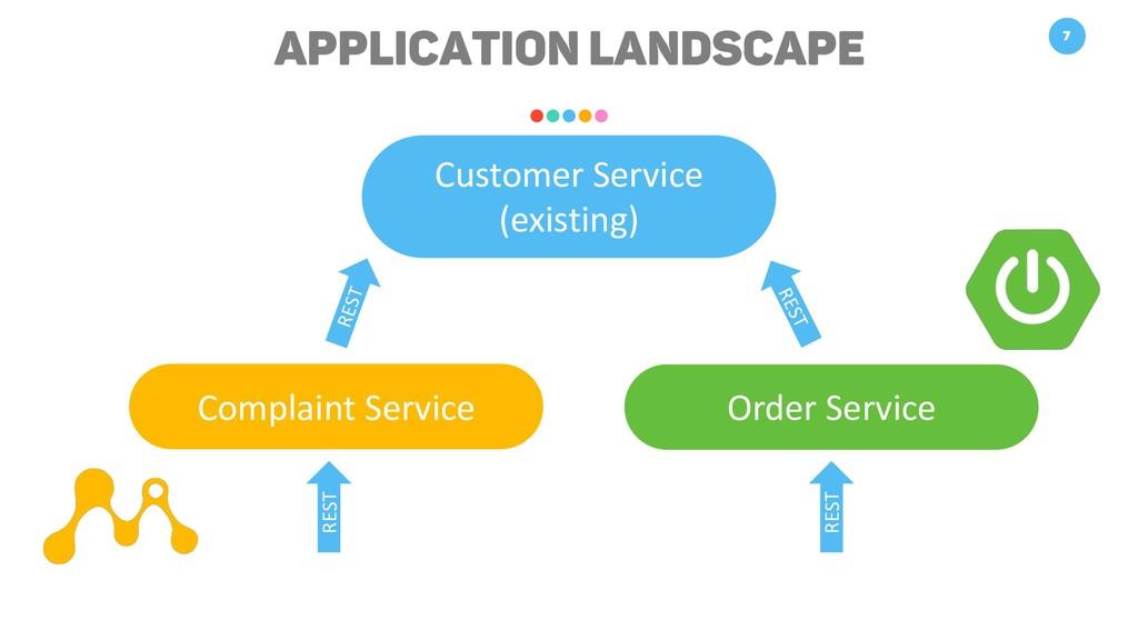Application Landscape 7 Customer Service (exist...