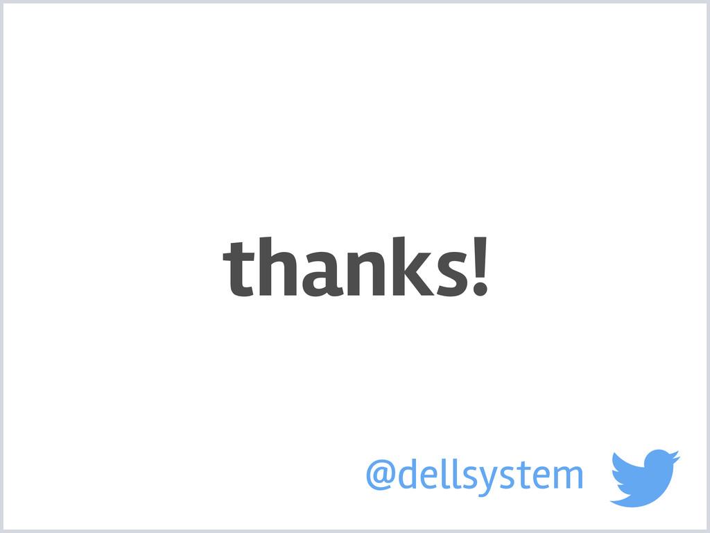 thanks! @dellsystem