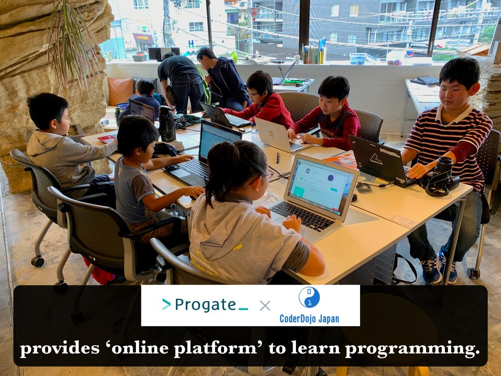 provides 'online platform' to learn programming.
